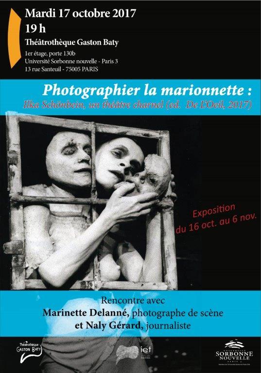 afiche exposition Marinette Delanné